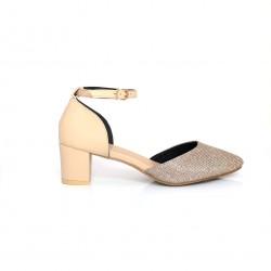 Heeled Shoe Gold