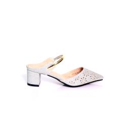 Hypershoe Ladies High Heels Silver (16546)